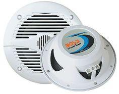 """BOSS AUDIO MR60B Marine 6.5"""" 2-way 200-watt Full Range Speakers"""