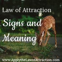 Law of Attraction Signs and Symbols - What do they mean? - www.applythelawofattraction.com