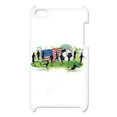 USA Women Soccer iPod Touche 4 Case