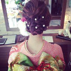 Instagramのフォロワー14万人超え!福岡の人気スタイリストRumiさんのヘアアレンジがおしゃれ♡【白無垢・色打掛け編】 | ZQN♡ | ページ2
