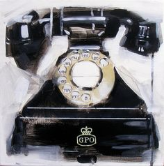 GPO Telephone by James Paterson Art, via Flickr