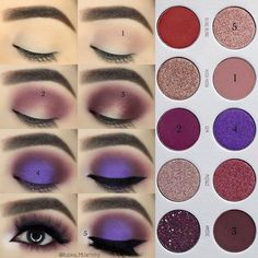 Eyeshadow Tutorials For Perfect Makeup – So Easy Even Beginners Can Learn eye makeup tutorial; eye makeup for brown eyes; eye makeup for brown eyes; Jaclyn Hill Palette, Natural Eye Makeup, Makeup For Brown Eyes, Brown Eye Makeup Tutorial, Sleek Makeup, Makeup Goals, Makeup Inspo, Makeup Ideas, Makeup Hacks