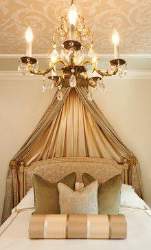 Traditional Bedroom by Maria DeCotiis Interior Design Guest Bedroom Decor, Guest Bedrooms, Bedroom Ideas, Residential Interior Design, Luxury Interior Design, Sleeping Nook, Decoration, Art Decor, Decor Ideas