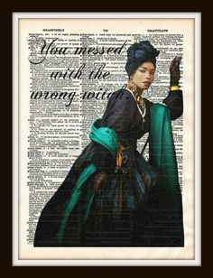 Marie Laveau American Horror Story Coven by vintagemystic on Etsy, $12.00