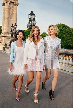 Nicole Warne, Chiara Ferragni y Zanita Whittington para Lucky Magazine Febrero 2015 #streetstyle #fashionbloggers