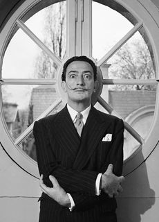 Dali- photo by Willy Rizzo