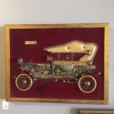 Remember V-day is next week. We have all kinds of rad gifts for your sweetheart.  Cadillac 1914 - vintage handmade piece. $45