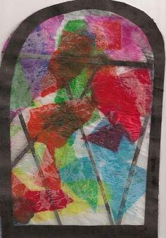 Modern Art 4 Kids: Marc Chagall: stained glass windows
