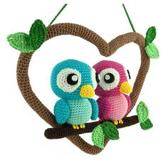 Love Birds amigurumi pattern by Sabrina Somers
