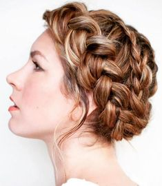 DIY braided hairstyle tutorial and other lovely things to welcome Fall. Image and tutorial by Hair Romance. DIY braided hairstyle tutorial and other lovely things to welcome Fall. Image and tutorial by Hair Romance. Bridal Hairstyles With Braids, Braided Hairstyles Tutorials, Crown Hairstyles, Short Hairstyles For Women, Summer Hairstyles, Wedding Hairstyles, Bun Hairstyle, Simple Hairstyles, Hairstyle Ideas