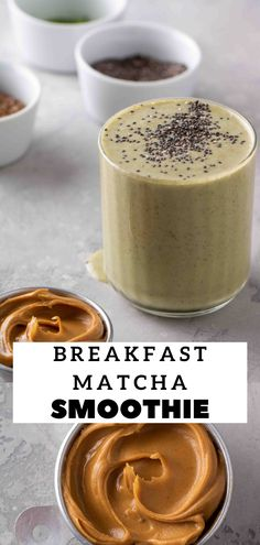 Matcha Green Tea Smoothie, Delicious Desserts, Dessert Recipes, Good Food, Yummy Food, Recipe Boards, Healthy Recipes, Free Recipes, Recipe Ideas