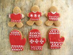 Jenny Steffens Hobick: Gingerbread Cookies | Christmas Cookies | Decorating Gingerbread Men
