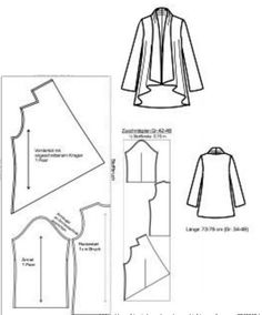 Lily waterfall cardigan pdf sewing pattern sew your own cosy coatigan sew your own waterfall cardigan kids sewing pattern for waterfall cardigan kids cardigan pdf pattern easy pattern pattern for knits easy to sew pattern Sewing Patterns Free, Clothing Patterns, Sewing Tutorials, Dress Patterns, Paper Patterns, Sewing Tips, Diy Couture, Couture Sewing, Techniques Couture