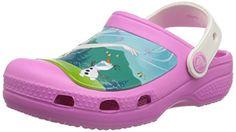 crocs CC FrozenFever Clog, Mädchen Clogs, Pink (Party Pink/Oyster 6FJ), 29-31 EU (C12-13 Mädchen UK) - http://on-line-kaufen.de/crocs/29-31-eu-crocs-cc-frozen-fever-k-unisex-kinder-clogs