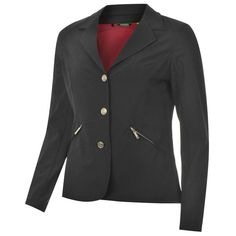 Requisite Soft Shell Jacket Fully lined and includes two zipped pockets to the waist this has stylish features such as double stitching button details on. Shells, Jackets For Women, Leather Jacket, Blazer, Horse Riding, Stylish, Lady, Fashion, Conch Shells