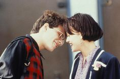 """The 21 Sexiest Movie Couples...Ever #Refinery29  Christian Slater & Samantha Mathis, Pump Up The Volume   Nothing captures the delicious angst of teenage desire quite like a brooding Slater and a sexually charged Samantha Mathis. The two have an intense, unflinching make-out session to Ivan Neville's """"Why Can't I Fall In Love,"""" and the trepidation of the pair almost matches the intense longing. Oh, and the music is pitch-perfect too, which makes sense in a movie about a pirate radio station."""