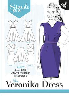 The Veronika Dress - Dress Edit - Patterns