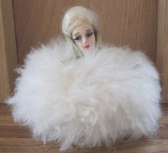 Art Deco 1920's Boudoir Doll Powder Puff V V | eBay