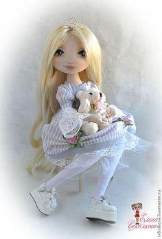 Милена - кукла,текстильная кукла,принцесса,кукла для девочки,блондинка