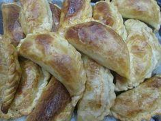 Empanadas de pollo con dos pimientos