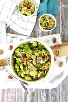 Smoky Chicken Broccoli Salad