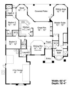 Nice plan. Would like to down size but still have a finished basement.