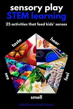 Sensory Play STEM Learning Left Brain Craft Brain