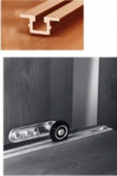 CABIHAWARE.COM: CABINET BYPASS DOOR HARDWARE - Featuring standard residential and heavy-duty bypass door track systems. We offer complete bypass track sets and individual bypass door components such as bypass
