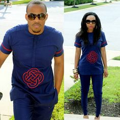 This Couple and Parents to 4 Amazing Kids Are So Fashionable - See Them Slay in Matching Outfits - Wedding Digest Naija African Fashion Designers, African Men Fashion, Africa Fashion, African Wear, African Attire, African Dress, African Style, African Clothes, Ankara Dress