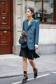 Caroline Issa - London Fashion Week Spring 2015.  (September 2014)