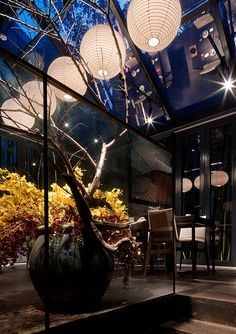 Ikebana, Diorama, Zen Interiors, Hotel Flowers, Corporate Flowers, Modern Asian, Lobby Design, Rooftop Terrace, Reception Areas