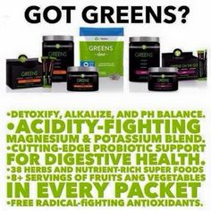 Got Greens?! No!.... You Should! Click the Link and Lets Connect