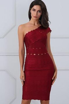 TROPHY WIFE BANDAGE DRESS