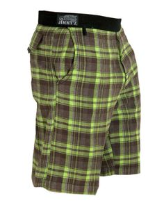 NWT Womans JIMMY/'Z Plaid Shorts Green or Red