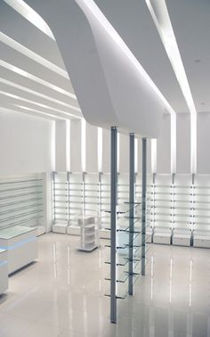 Pharmacy designed by Voyatzoglou Systems Located@Golden Hall, E.Rapti