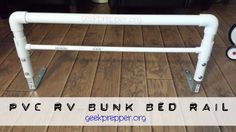Pvc Rv Bunk Bed Rail Perfect For Keeping Harper In The Upper