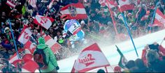 Crazy Atmosphere for Marcel #Hirscher Winning the Slalom World Championship at home!