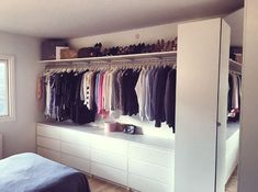 closet layout 325666616807438497 - Our walk-in at home made by my boyfriend – I am one lucky girl ♥ Our walk-in at home made by my boyfriend – I am one lucky girl ♥ Source by ditommasocorali