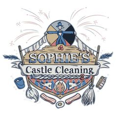 Sophie's Castle Cleaning Howl's Moving Castle