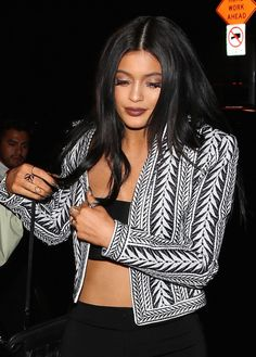 April 2015 - Kylie Jenner going to Craig's in West Hollywood. Paparazzi Photos, Kendall And Kylie Jenner, Kardashian Jenner, West Hollywood, Her Style, Candid, Celebrities, Model, Jenners