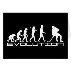 Hockey Evolution ~ Ice Hockey Card