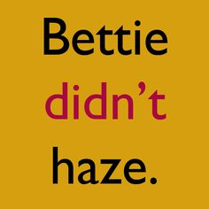 National Hazing Prevention Week kicks off today. How are you preventing hazing on your campus? #BettieDidntHaze #NHPW #Theta1870