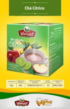 Chá Vemat Cítrico 13gr