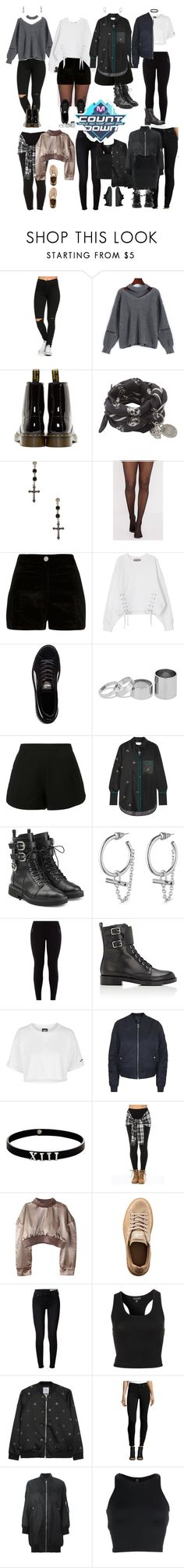 """""""REXH O.K/Debut stage"""" by rexhogaccount ❤ liked on Polyvore featuring Dr. Martens, Alexander McQueen, Givenchy, River Island, Puma, Betty Jackson, Alexis, Victoria, Victoria Beckham, Giuseppe Zanotti and Eddie Borgo"""