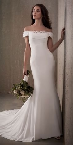 Featured Wedding Dress: Adrianna Papell Platinum; www.adriannapapell.com; Wedding dress idea.
