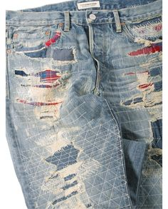 EXCLUSIVE Ron Herman Denim designed by Simon Miller Authentic Straight Leg Jean in Koki