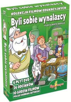 Cena: 100.00zł. Eksresowa wysyłka od ręki. ZESTAW BAJEK DVD - BYLI SOBIE WYNALAZCY dla dzieci od 4 lat... więcej na www.Tublu.pl #tublu #tublu_pl #zabawka #zabawki #dla #dzieci #toy #for #kid #byli #sobie #wynalazcy Blond, Movie Tv, Engineering, Family Guy, Baseball Cards, Play, Guys, Comics, Film