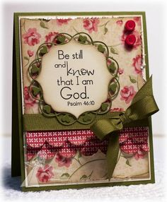 Be Still by deconstructingjen - Cards and Paper Crafts at Splitcoaststampers