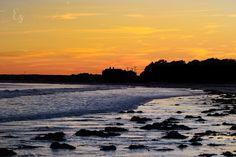 """Rocky Amber"" at Goose Rocks Beach"