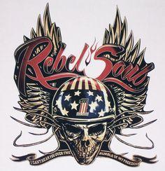 Kid Rock Rebel Soul Rv motorhome Motorcycle camper mural Golf Cart Hood rear window Decal Sticker Decals Stickers by SuperbDecalsLLC on Etsy